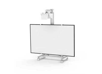 whiteboard stativ gallery of mobiles mit projektor whiteboard und rollstativ with whiteboard. Black Bedroom Furniture Sets. Home Design Ideas