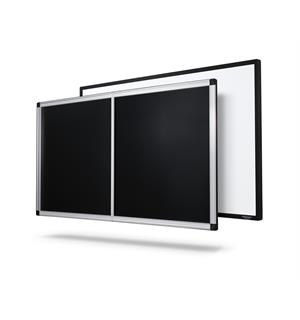 "Grandview lydtransparent duk 120"" EDGE Hvit. 120"" (266*150) rammespent"