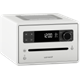 331225 SonoroSO-2200-100-WH Sonoro CD2, DAB+ radio med bluetooth CD, DAB+ radio med Bluetooth, hvit
