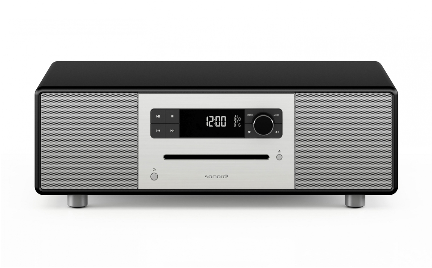 331212 Sonoro SO-3100-100-MB Sonoro Stereo, DAB+ radio med bluetooth CD, DAB+ radio med Bluetooth, matt sort